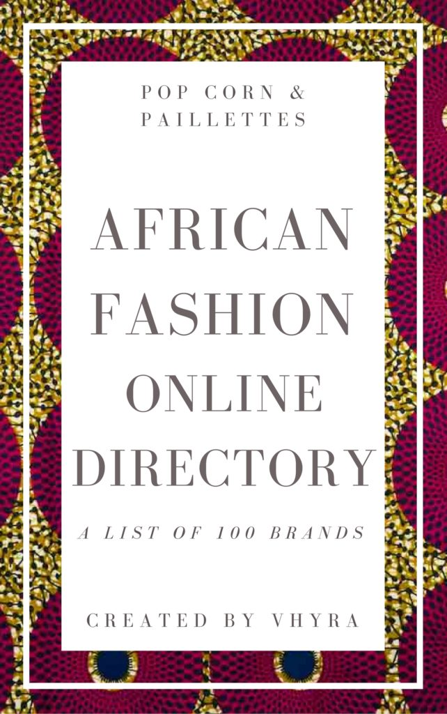 African fashion online directory