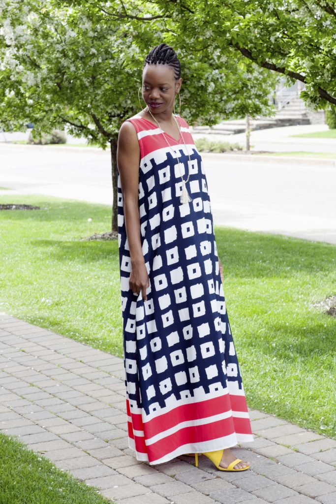 african design simple dress